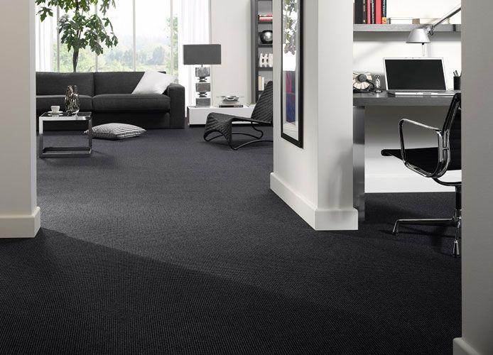 Blauwe Vloerbedekking Slaapkamer : Zwart tapijt bekijk en bestel zwart tapijt