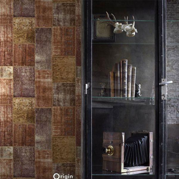 Eco texture vliesbehang Origin 347465