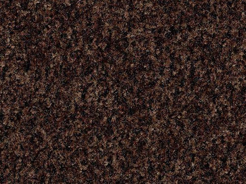 Deurmat Coral Brush chocolate brown