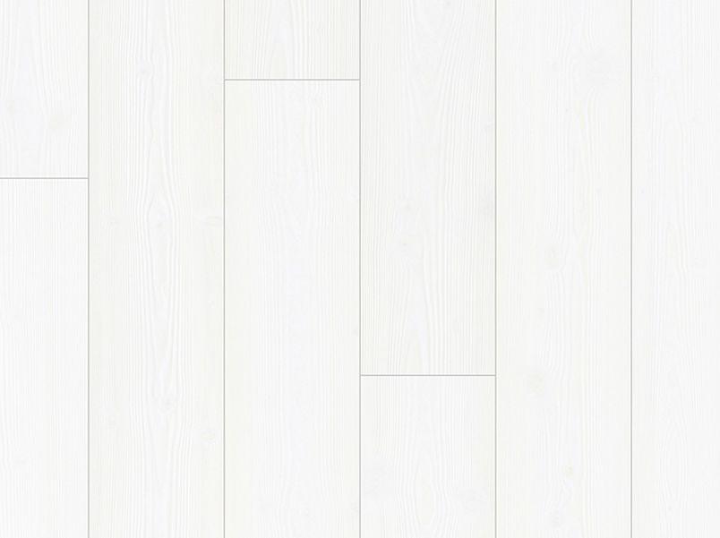 Laminaat Impressive witte planken