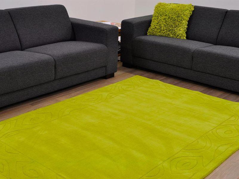 Vloerkleed Eternia lime green