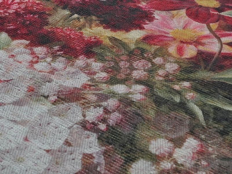 Vloerkleed Flowers multi