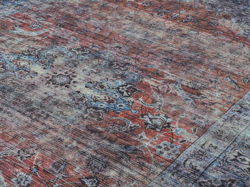 Roobol Tapijt Vloerkleden : Vloerkleed old persian blauw rood in de maat cm roobol