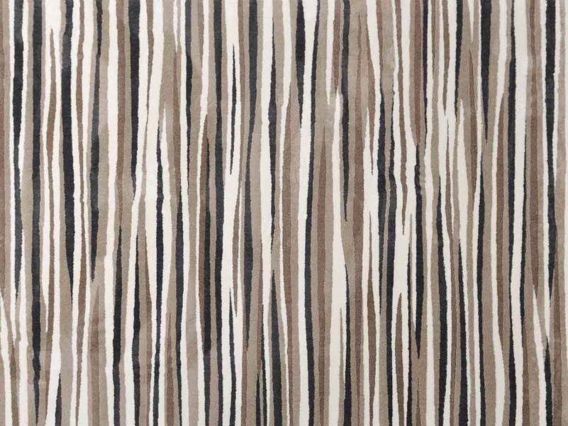 Vloerkleed Play bruin streep