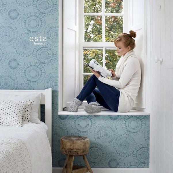 Eco texture vliesbehang Esta Home 148325