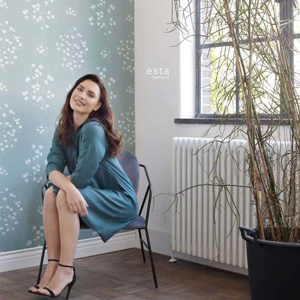Eco texture vliesbehang Esta Home 148736