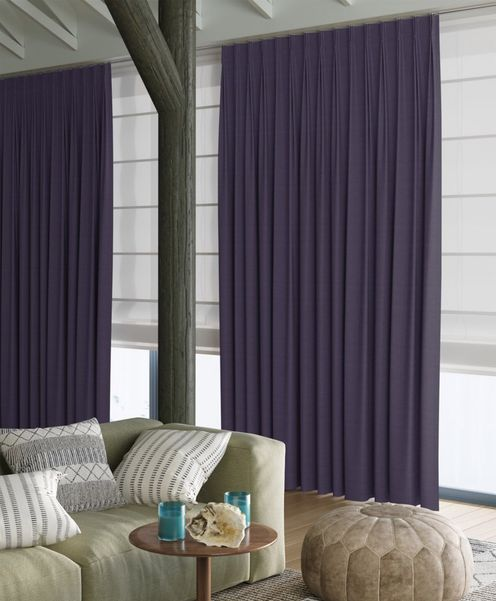 Gordijn Superior violet