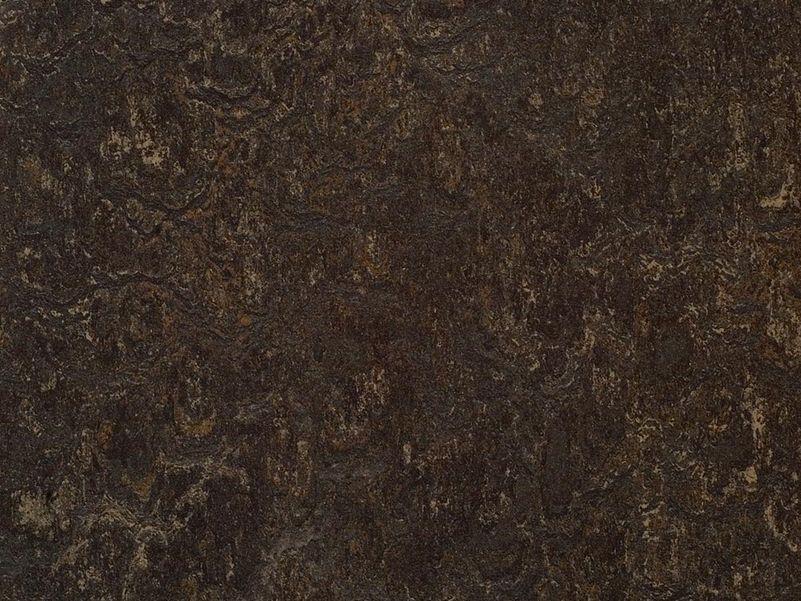 Marmoleum real dark bistre cm breed roobol
