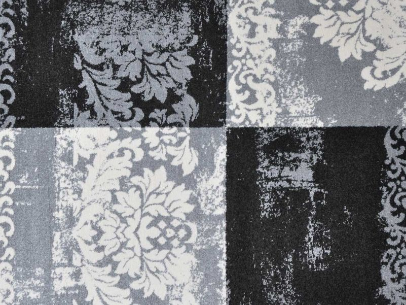 Vloerkleed Art Works black