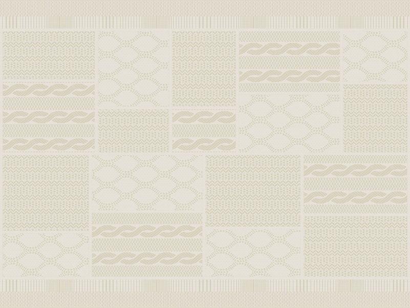 Buitenkleed Jersey wool block