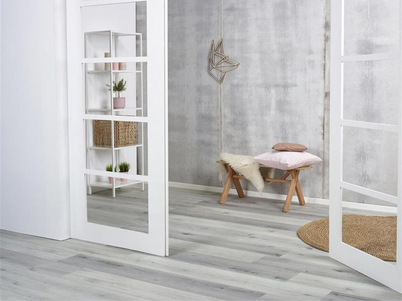 PVC vloer Essenzo Click light grey
