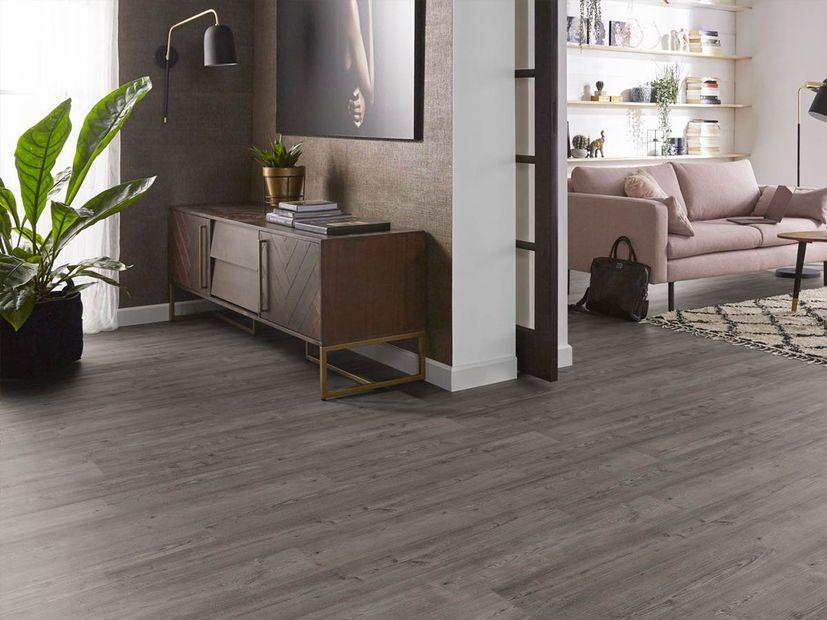 PVC vloer Ede grey pine