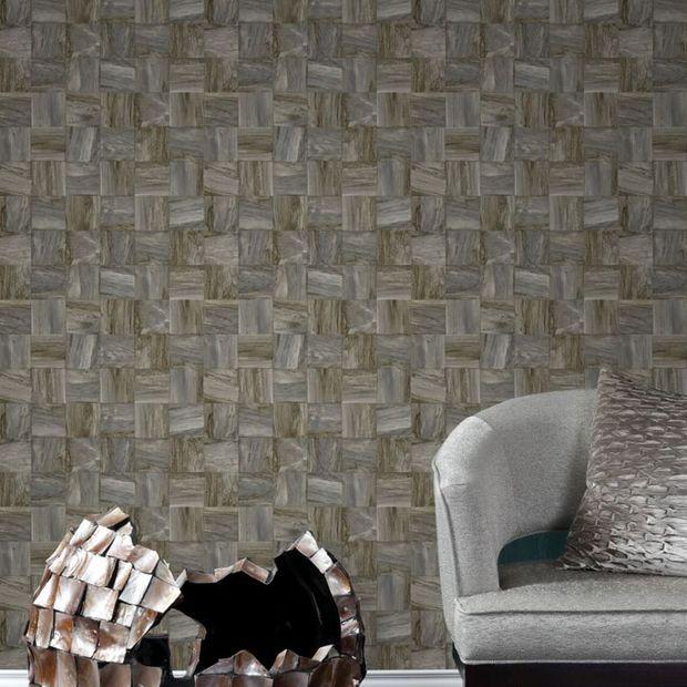 Eco texture vliesbehang Origin 347519