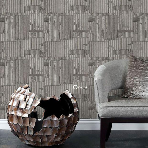 Eco texture vliesbehang Origin 347618