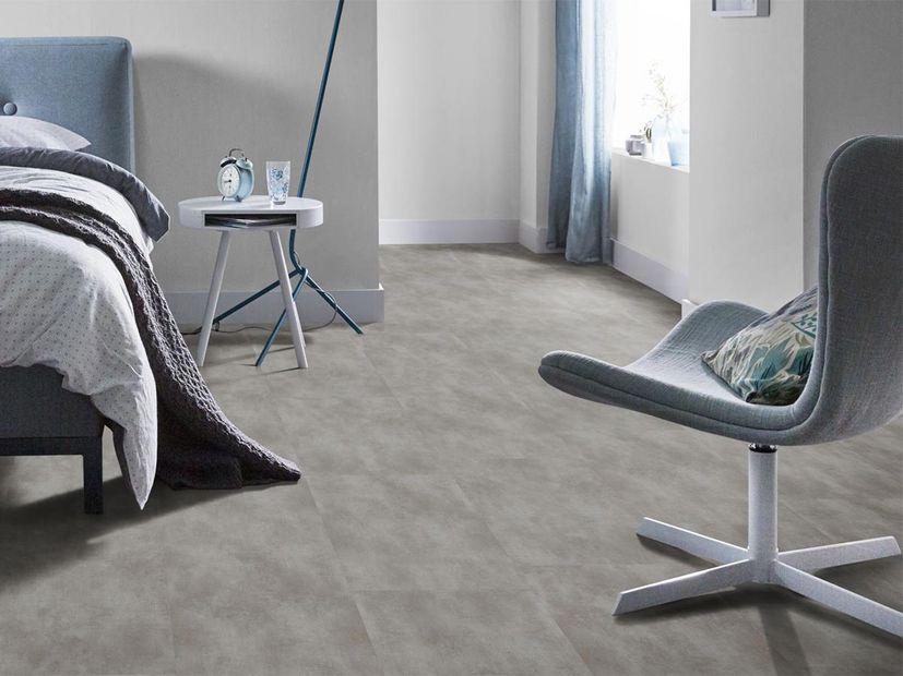 PVC vloer Concrete XL blue grey