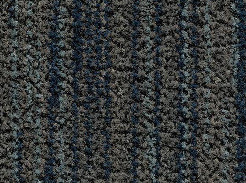 Deurmat Coral Brush slate blue
