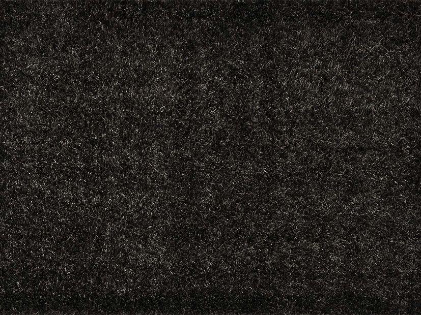 Vloerkleed Diamond Shaggy zwart