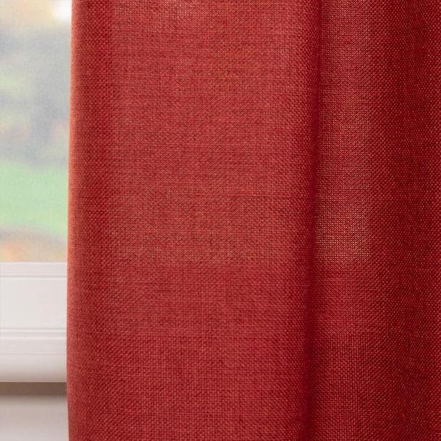 Gordijn Lova-lin rood