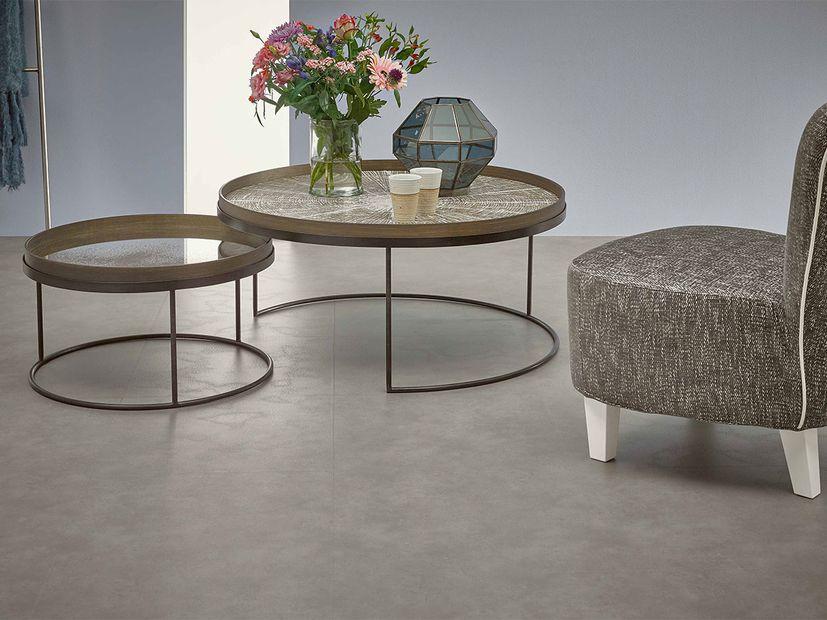 Vinyl Novilon Nova Luxe light concrete tile