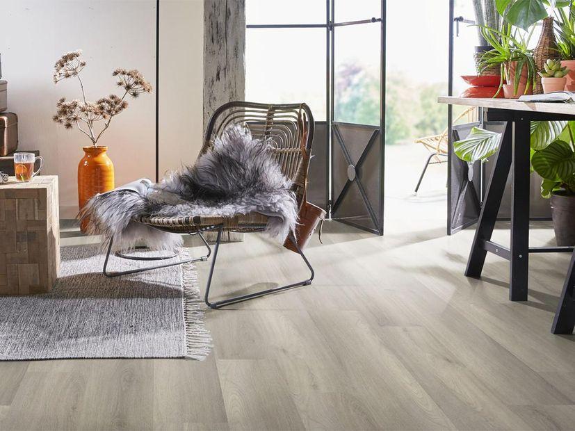 PVC vloer Ardeche click light grey