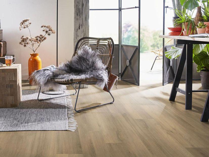 PVC vloer Ardeche click natural oak