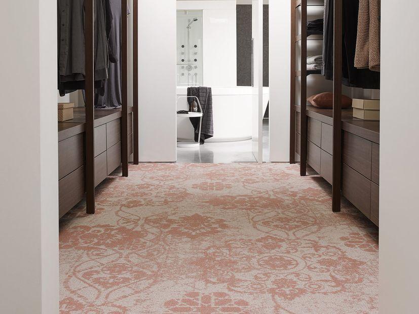 Tapijt Desso Patterns 4435 oud roze