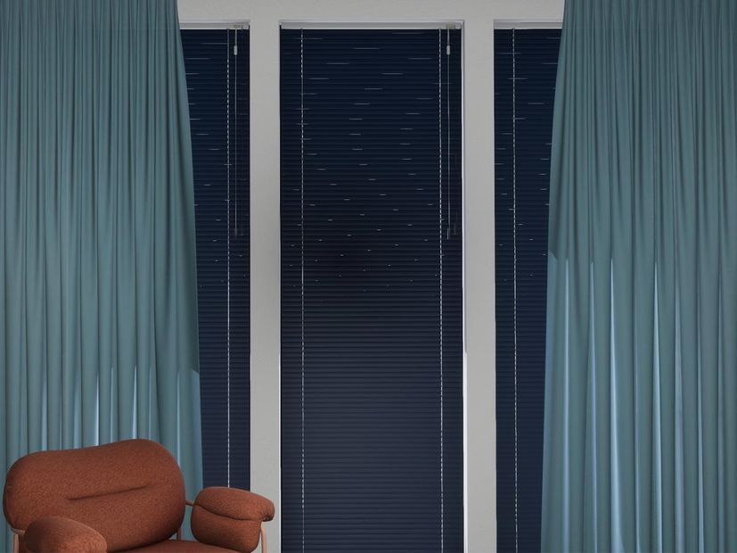 Horizontale jaloezie R-line donkerblauw