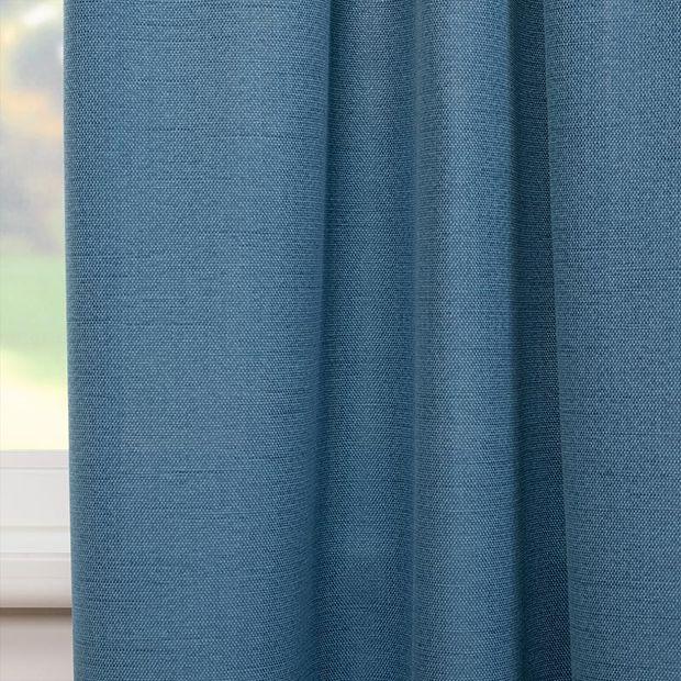 Gordijn Restill blauw