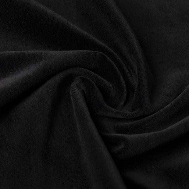 Gordijn Superior velours zwart