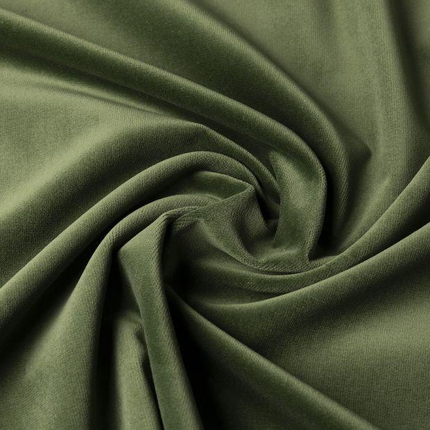 Gordijn Superior velours groen