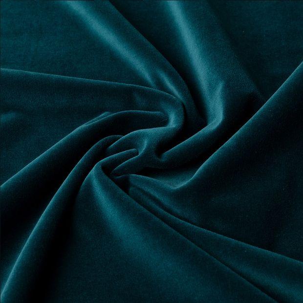 Gordijn Superior velours smaragd