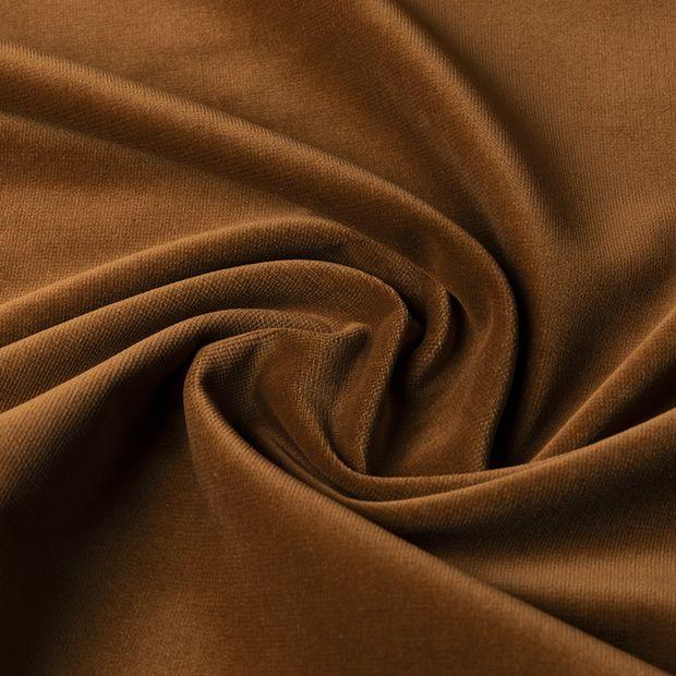 Gordijn Superior velours bruin