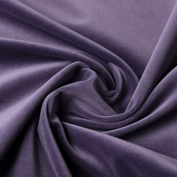 Gordijn Superior velours violet