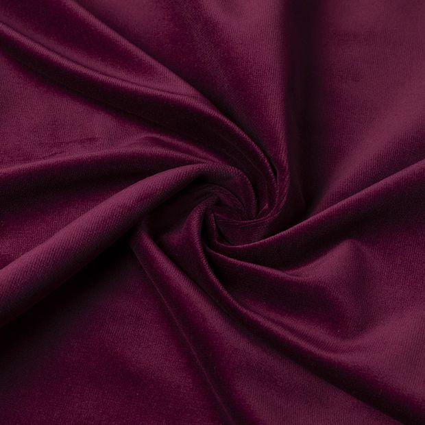Gordijn Superior velours paars