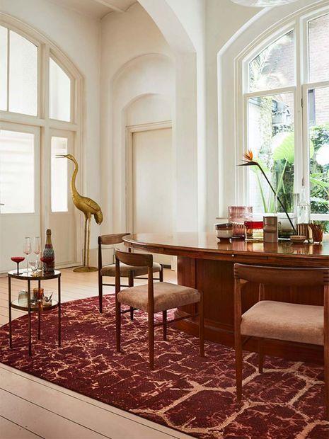 Tapijt Desso Art Deco ruby 4033