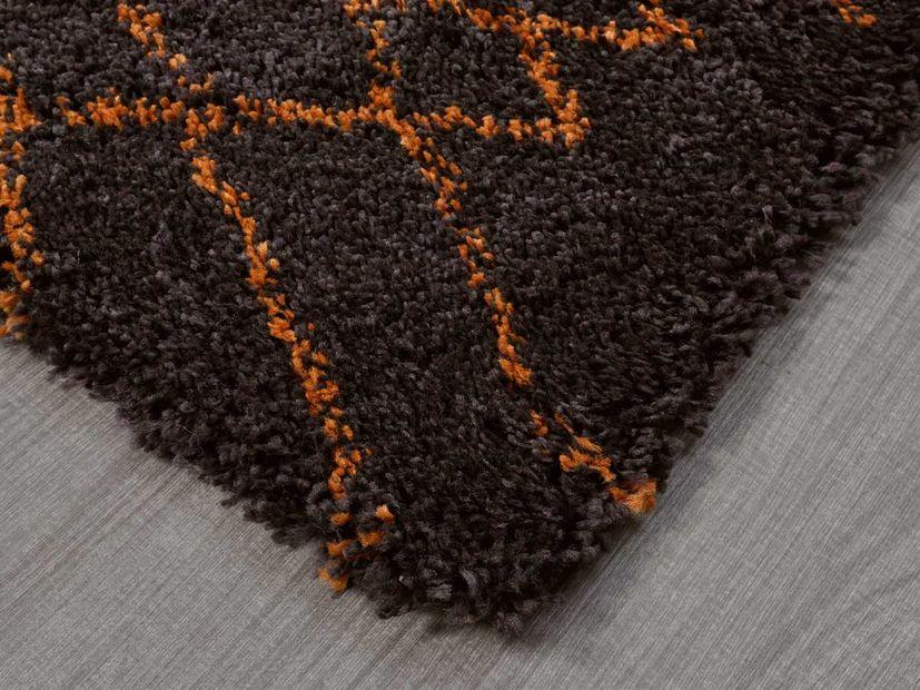 Vloerkleed Nomade chocolate copper
