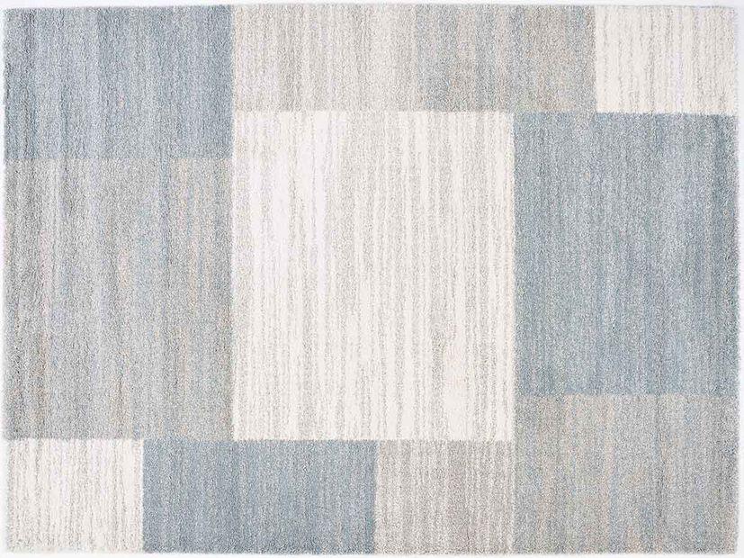 Vloerkleed Softness silver blue