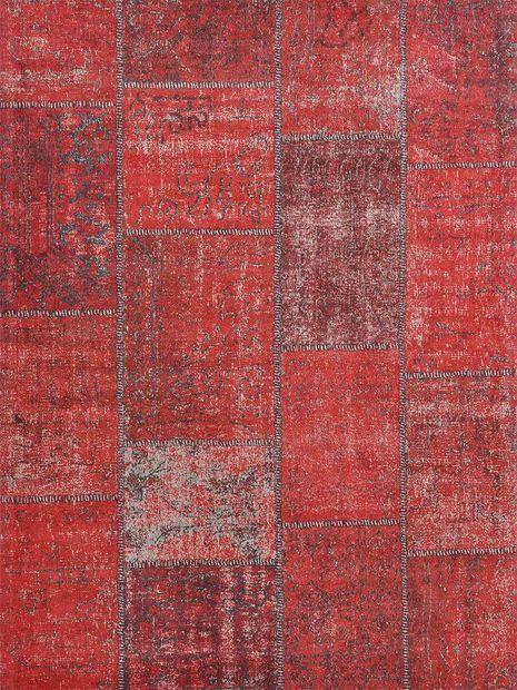 Vloerkleed Tabriz rood