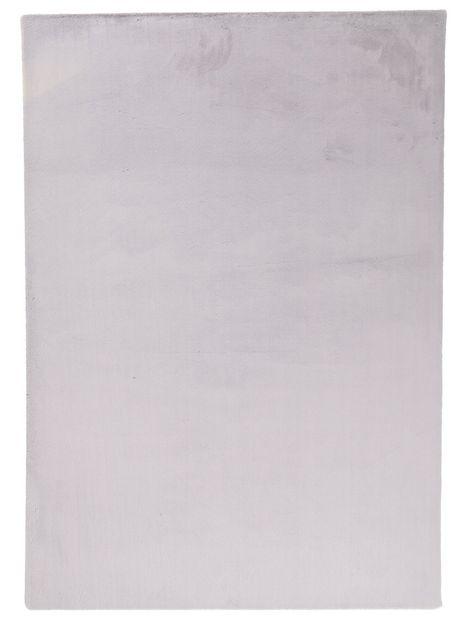 Vloerkleed Plush lichtgrijs