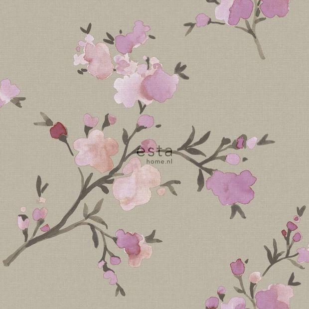 Eco texture vliesbehang Esta Home 148717