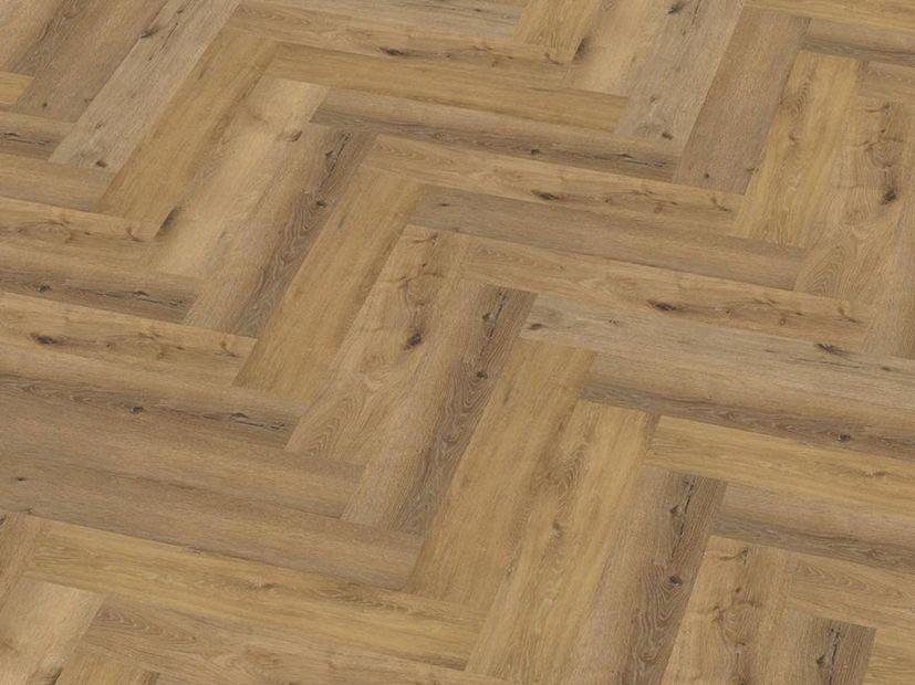 PVC vloer Spigato Click dark oak