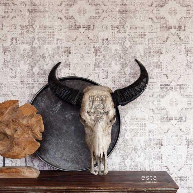 Eco texture vliesbehang Esta Home 148655