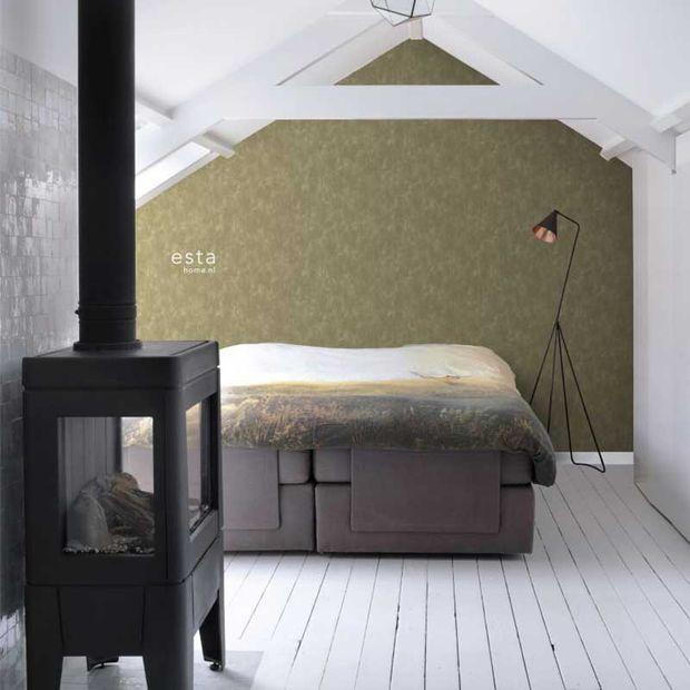 Eco texture vliesbehang Esta Home 148723
