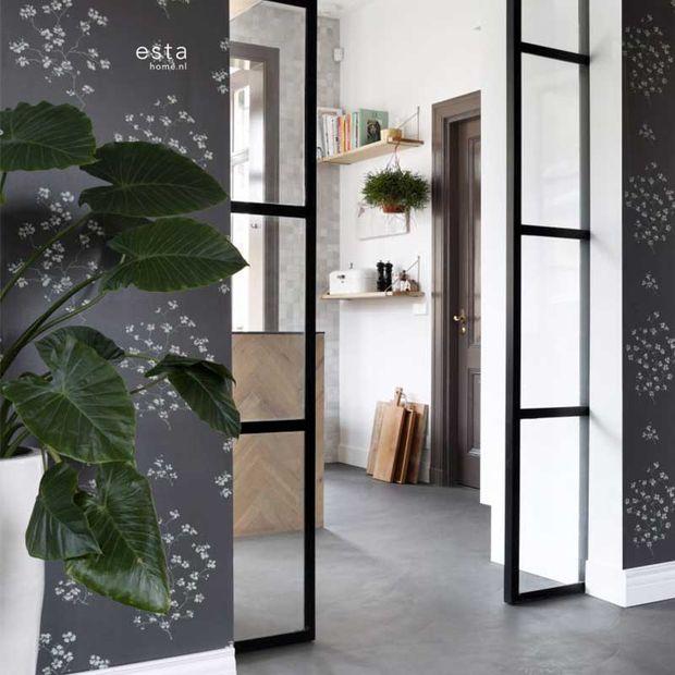 Eco texture vliesbehang Esta Home 148737
