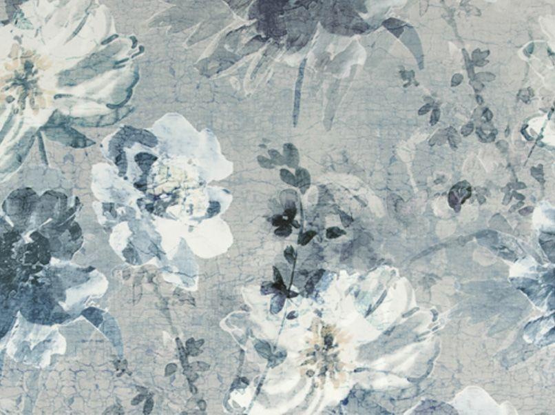 Gordijn Exquisite Recycle blauw