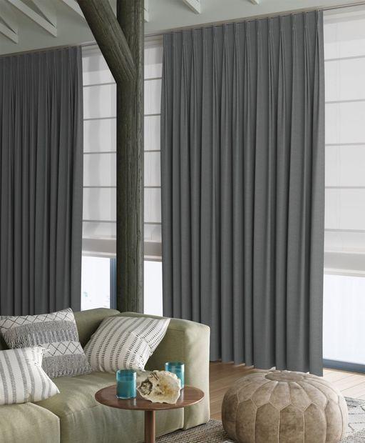 Gordijn Palette grijs