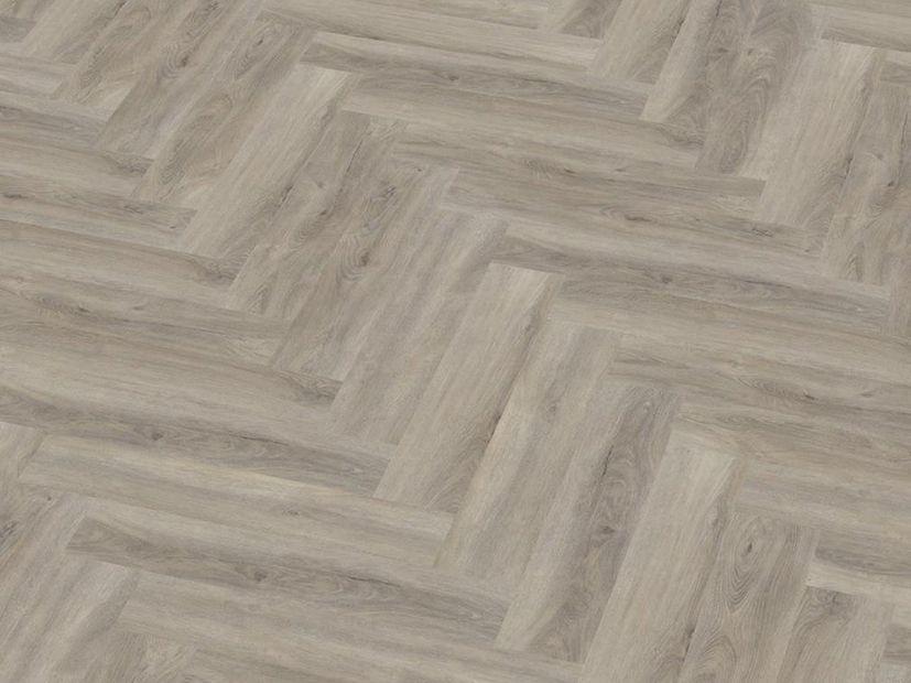 PVC vloer Spigato click light grey