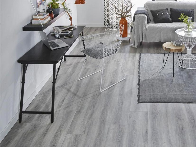 PVC vloer Forest Click light grey