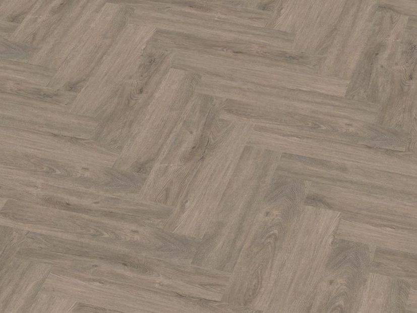 PVC vloer Spigato click light grey (smoky)