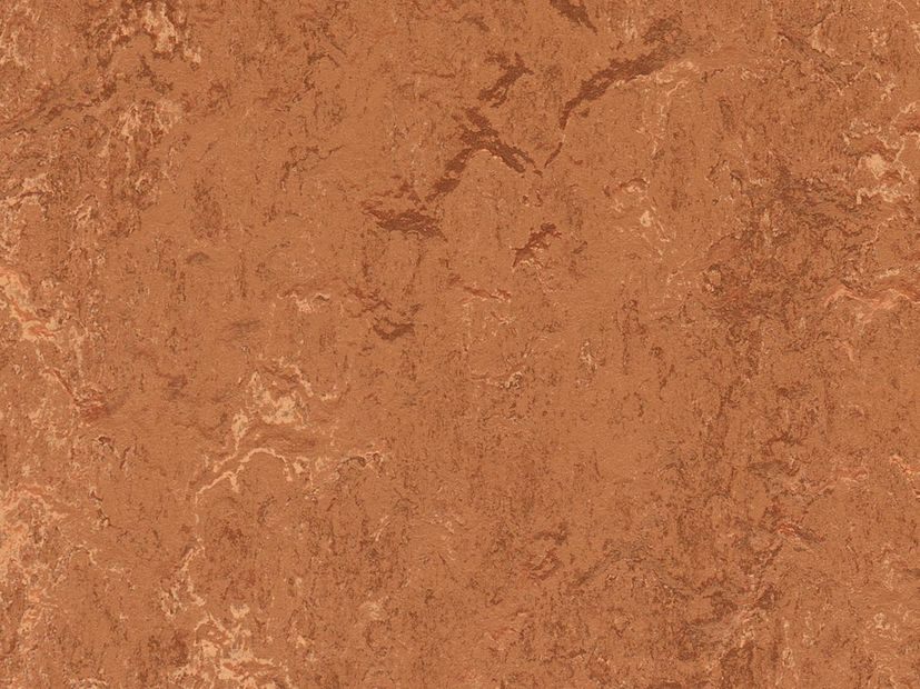 Marmoleum Marbled rust
